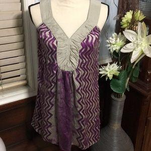 BANANA REPUBLIC tunic sleeveless tunic top